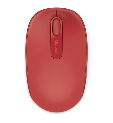 Microsoft Wireless Mobile Mouse 1850 (Red) image