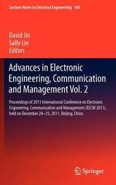 Advances in Electronic Engineering, Communication and Management Vol.2
