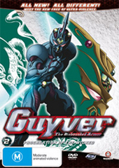 Guyver - The Bioboosted Armor: Vol. 2 - Procreation Of The Wicked on DVD