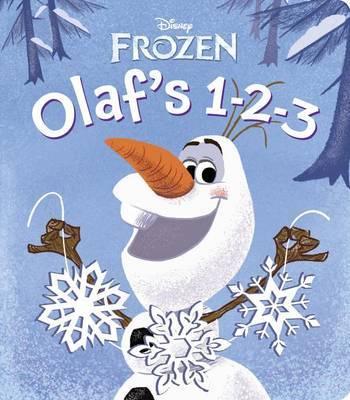 Frozen: Olaf's 1-2-3 (Glitter Board Book) by Random House Disney