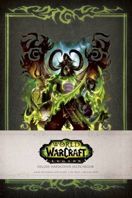 World of Warcraft: Legion Deluxe Hardcover Sketchbook by Blizzard Entertainment