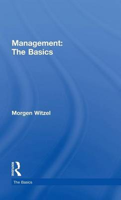 Management: The Basics by Morgen Witzel image