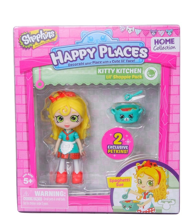 Shopkins: Happy Places - Spaghetti Sue Doll