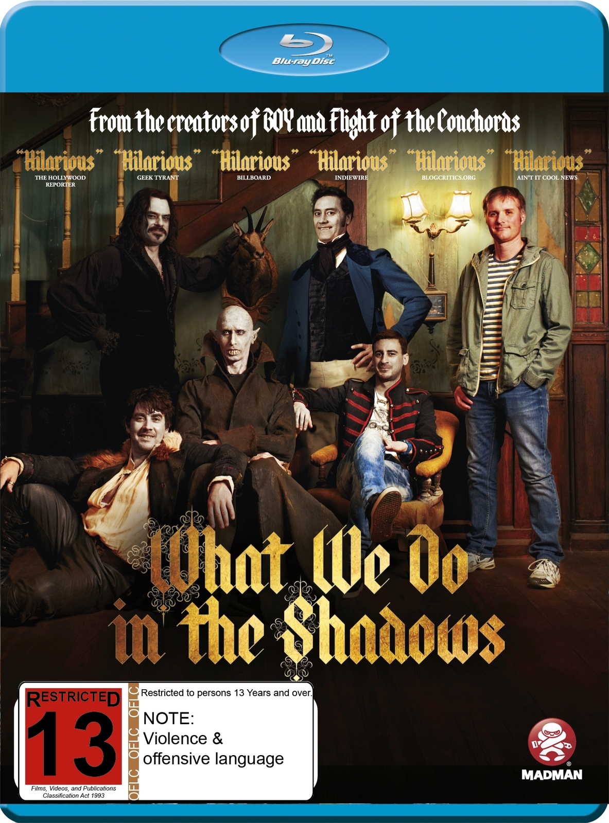 What We Do In The Shadows on Blu-ray image