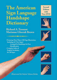 The American Sign Language Handshape Dictionary by Marianne Gluszak Brown image