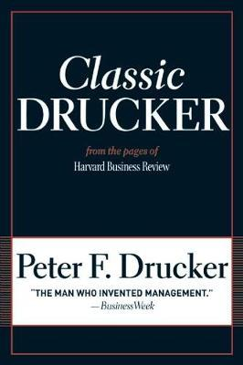 Classic Drucker by Peter F Drucker image