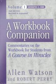 A Workbook Companion Vol. I by Allen Watson