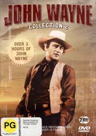 John Wayne Collection 2  (4 movies on 2 discs) on DVD image