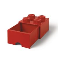 LEGO Storage Brick Drawer 4 (Red)