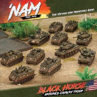 'Nam Black Horse Armoured Cavalry Troop