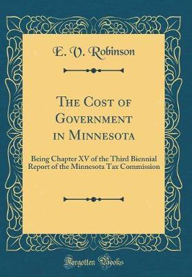 The Cost of Government in Minnesota by E V Robinson image