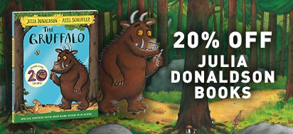 20% off Julia Donaldson Books
