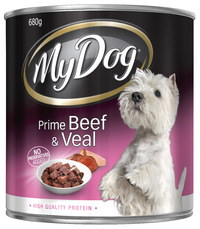 My Dog Classics - Prime Beef and Veal (680g)