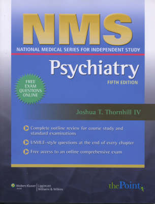 NMS Psychiatry by Joshua T. Thornhill image