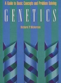 Genetics by Richard P. Nickerson image