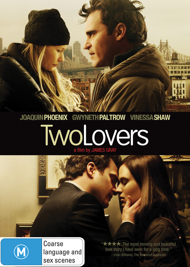 Two Lovers on DVD image