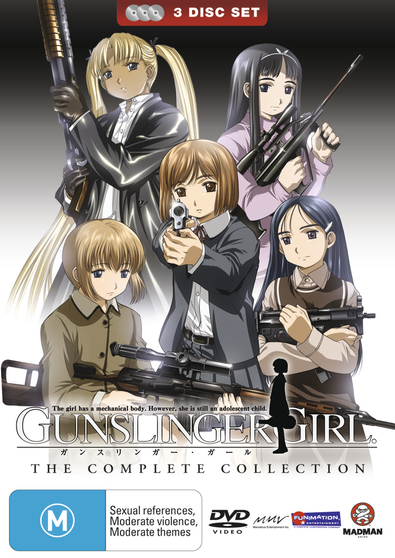 Gunslinger Girl - Complete Collection (3 Disc Slimpack) on DVD image