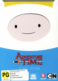 Adventure Time - The Complete First Season on DVD