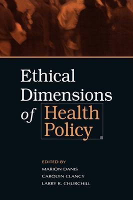 Ethical Dimensions of Health Policy image