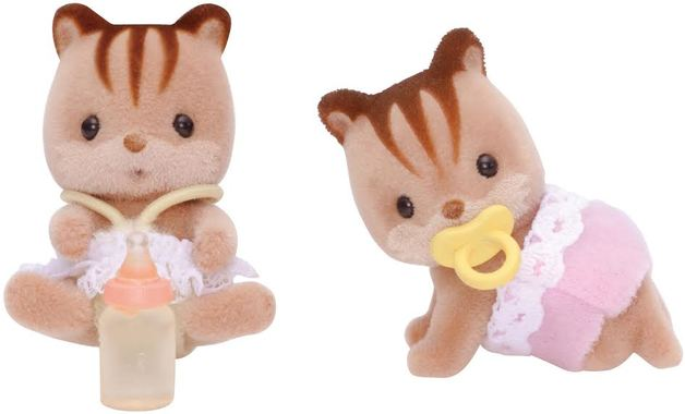 Sylvanian Families: Walnut Squirrel Twins
