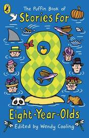 The Puffin Book of Stories for Eight-year-olds by Wendy Cooling image