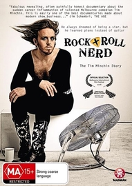 Rock + Roll Nerd - The Tim Minchin Story on DVD