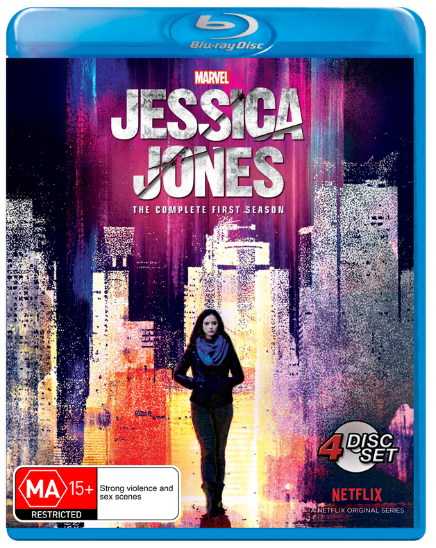 Jessica Jones - The Complete First Season on Blu-ray