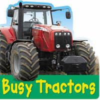 Busy Tractors by Christiane Gunzi image