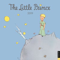 Little Prince 2019 Square Wall Calendar by Antoine De Saint-Exupery Estate
