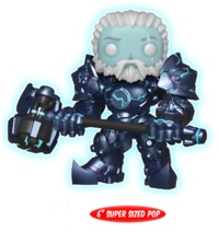 "Overwatch - Reinhardt (Coldhardt Skin) 6"" Pop! Vinyl Figure (LIMIT - ONE PER CUSTOMER)"