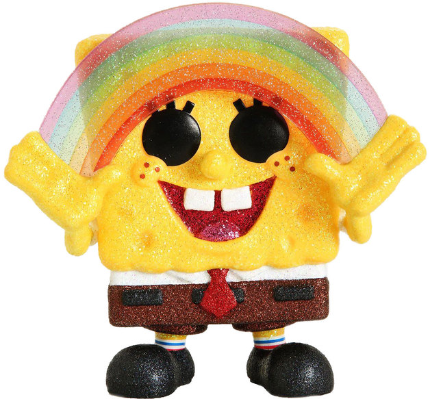 Spongebob Squarepants: Rainbow Hands (Diamond Glitter) - Pop! Vinyl Figure