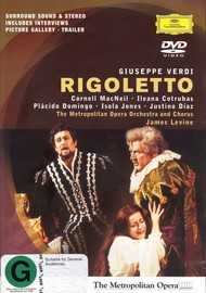 Domingo/Cotrubas/MacNeil/ - Verdi: Rigoletto on DVD image