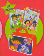 Dora The Explorer - Super Silly Fiesta! / Meet Diego (BONUS Lunch Box) (2 Disc Box Set) on DVD