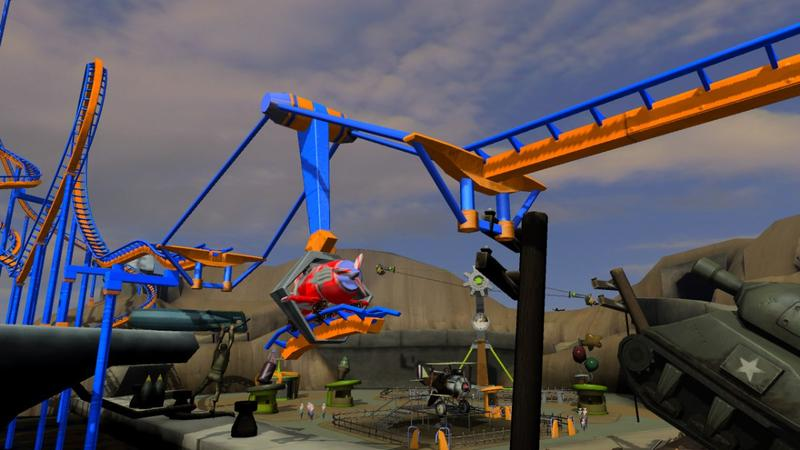 Thrillville: Off the Rails for Xbox 360 image