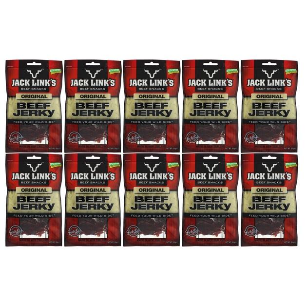 Jack Links Original Jerky 50g x 10 pack