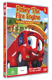 Finley The Fire Engine: Vol 1 - Handi Truckable Truck on DVD