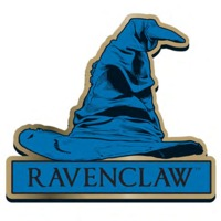 Harry Potter Ravenclaw Sorting Hat Badge