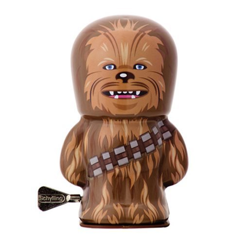 "Star Wars - 4"" Chewbacca Windup Tin Toy image"