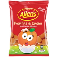 Allen's Peaches & Cream (220g)