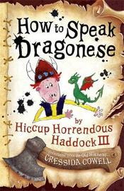 How to Speak Dragonese by Cressida Cowell image