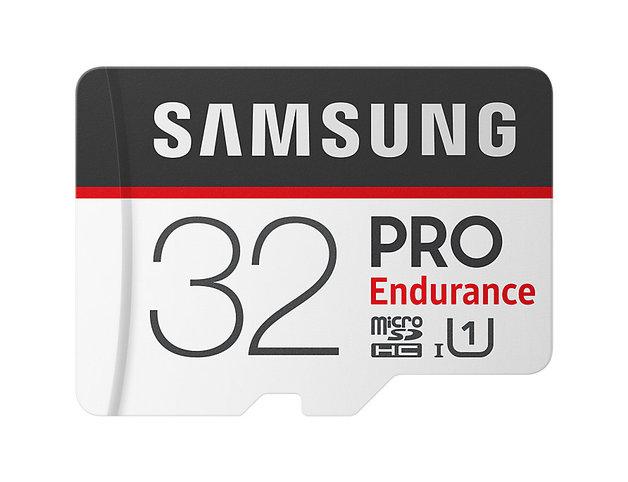 32GB Samsung PRO Endurance micro SDHC