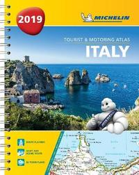 Italy - Tourist and Motoring Atlas 2019 (A4-Spirale)