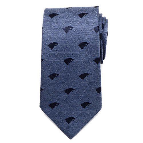 Game of Thrones Stark Geometric Sword Blue Men's Tie