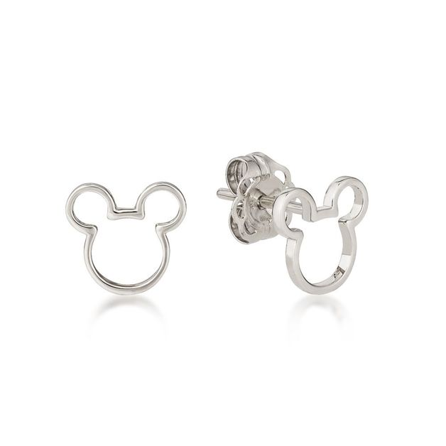 Couture Kingdom: Mickey Mouse Outline Stud Earrings