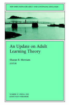 An Update on Adult Learning Theory: New Directions for Adult and Continuing Education image