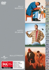 Billy Madison / Happy Gilmore / Bulletproof - 3 DVD Collection (3 Disc Set) on DVD