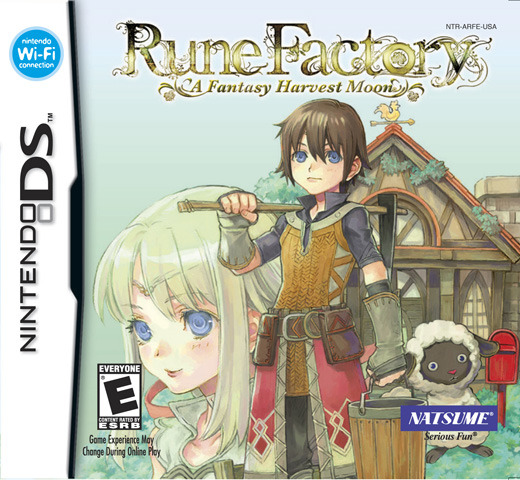 Rune Factory: A Fantasy Harvest Moon for Nintendo DS