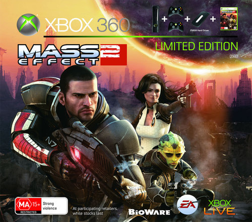 Xbox 360 Elite 250GB Mass Effect 2 Bundle for Xbox 360
