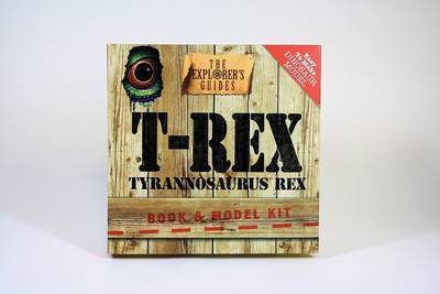 T-Rex: Book & Model Kit by Artworks J M