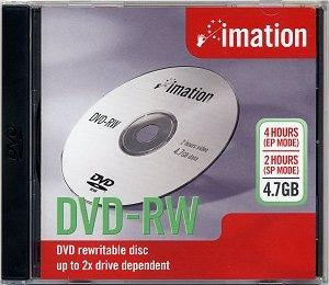 Imation DVD+RW 4.7GB 4X 5PK